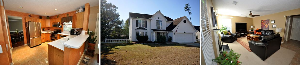 Kitchen, Exterior and Family room in 95 Blairmore Drive, Charleston, SC