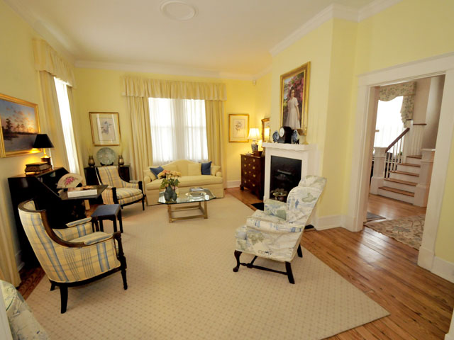 Formal living room at 20 Colonial Street