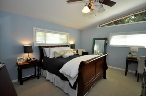 Master bedroom at 412 Millcreek Drive
