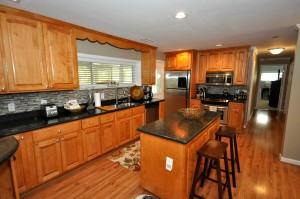 Gourmet kitchen at 412 Millcreek Drive