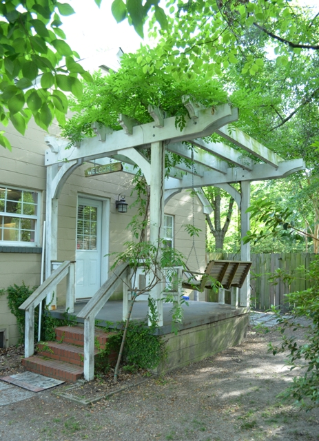 Pergola Front at 1253 Wisteria Road West Ashley