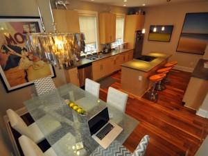 Contemporary kitchen at 12 Brewster Court, Charleston, SC 29403