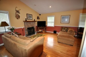 Family room at 1203 Island View Drive, Mt. Pleasant, SC 29464