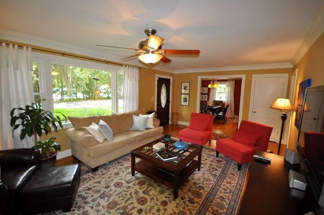 living room at 1228 Ravenel Drive, Charleston, SC 29407