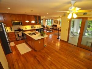 Kitchen & open floor plan at 630 Williamson Drive, Mt. Pleasant, SC