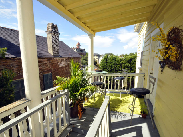 Porch at 15 Pitt Street Charleston, SC