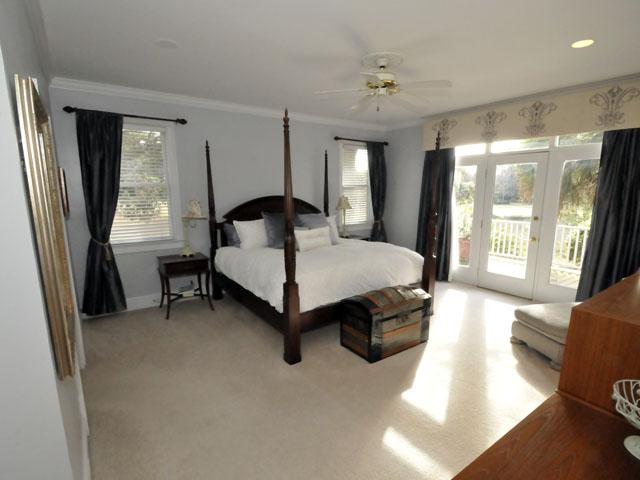 Master bedroom at 529 W Rice Planters Lane
